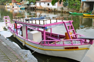 Paraty fishing boat