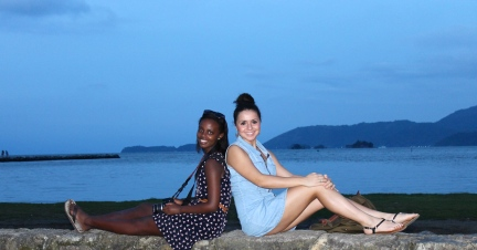 Ruth and I paraty