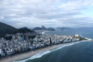 Rio de Janeiro beach view