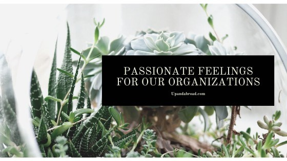 Passionate Feelings for Our Organizations